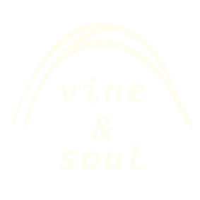 Vine & Soul White Logo